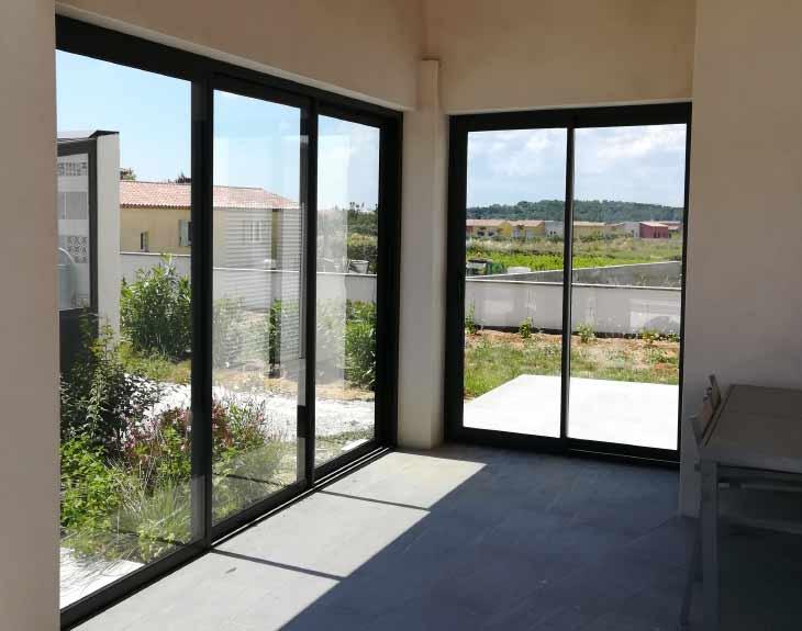 projet porte fenêtre alu