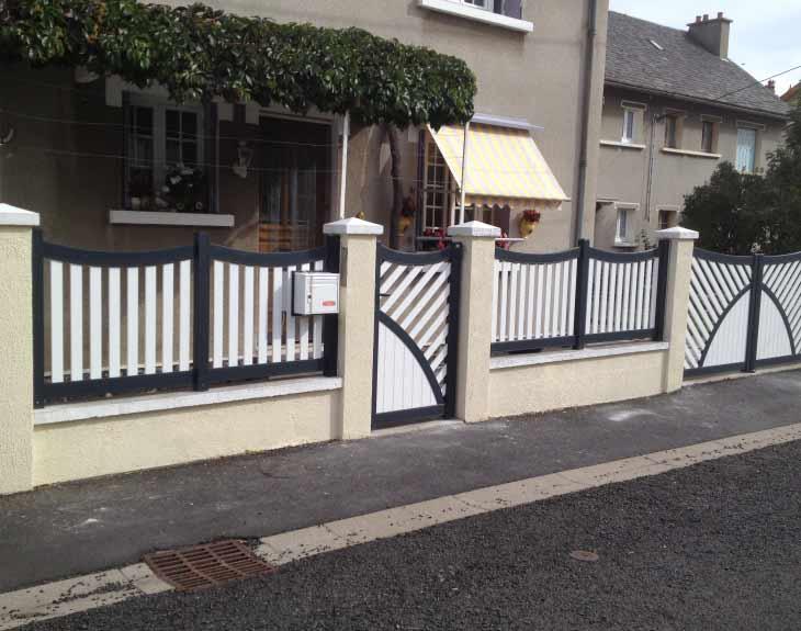portail et clôture sur mesure Cantal