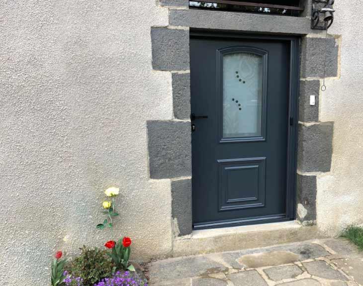 porte d'entrée sur mesure Cantal